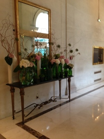 Just a few French flowers in our hotel