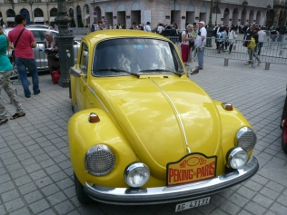 .. even the VWs got in on the act