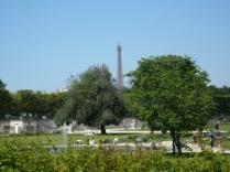 Through the Gardens to the Eiffel tower