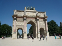 Arc de Triomphe du Carrousel in the Gardens