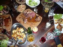 Le viande - and plenty of it...