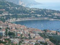 More of the bay of Nice from up high