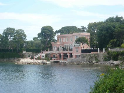 David Niven's original home in Beaulieu