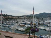 The Port at St Jean Cap Ferrat down the road from where we are staying