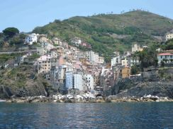 Riomaggiore - where we pottered and lunched.