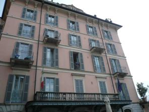 Bellagio's beautiful buildings