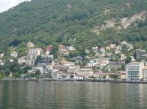 The towns on Lake Como