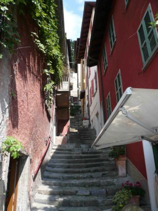 Plenty of steps on Varenna