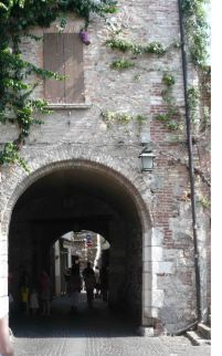 Some of the town's tunnels provide a cool respite