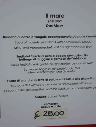 German translation kindly provided on the restaurant menu