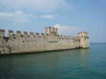 The outer walls of Sirmione