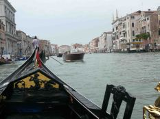 In the Grand Canal