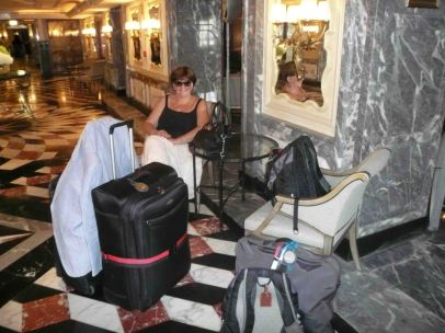 This is all Tony's luggage!