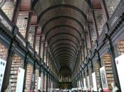 The Trinity College library. Fascintating.