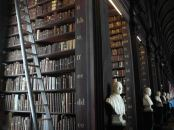 Another perspective of the Trinity College library
