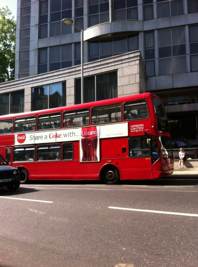 London bus a symbol of the place