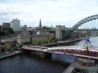 One of the many bridges over the Tyne