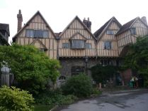 Some of the old Tudor houses near the Cathedral