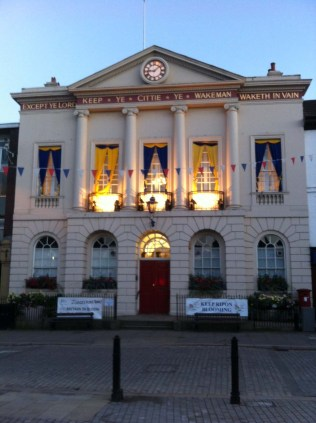 The Ripon Town Hall