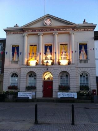 The Ripon Town Hall
